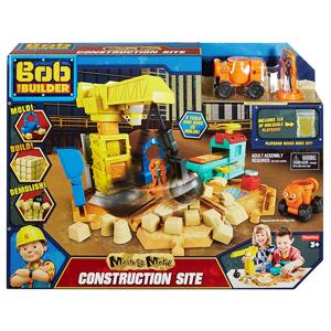 Bob Budowniczy, Plac budowy, zestaw z piaskiem kinetycznym