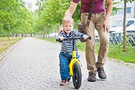 31 miesiąc życia dziecka - Czas na rowerek dla dziecka!