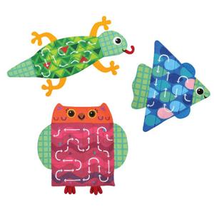 K's Kids, Training2s, Labirynt sensoryczny zwierzątka, zabawka edukacyjna