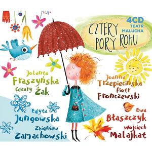 Teatr malucha. Cztery pory roku. Wiosna, Lato, Jesień, Zima. 4CD