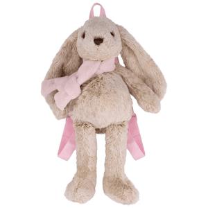 Beppe, Króliczek maskotka, plecak, 23 cm