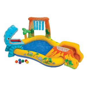Intex, Dolina Dinozaurów, dmuchany plac zabaw