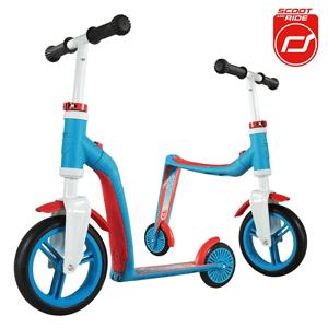 Scoot and Ride, Highwaybaby 2w1, hulajnoga i rowerek, niebieski