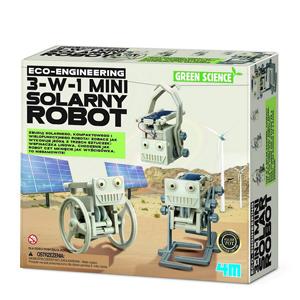 4M, Mini solarny robot, zestaw naukowy 3w1