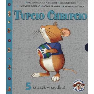Pakiet: Tupcio Chrupcio. 5 książek w środku