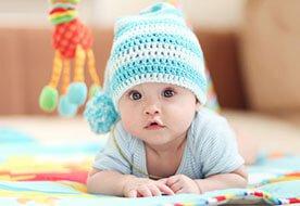 5 miesiąc życia dziecka - uwielbiam się ruszać!
