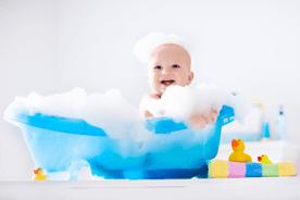 Akcesoria i gadżety do kąpieli dla malucha