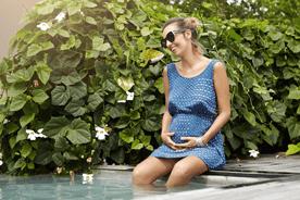 Jak przetrwać upały w ciąży?