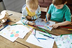 Kolorowanki dla dzieci. Przegląd propozycji