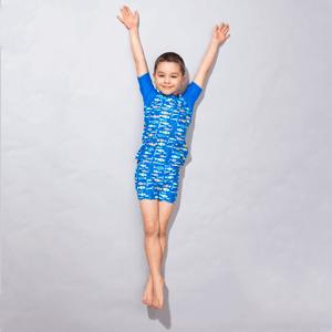 Cool Club, Komplet kąpielowy chłopięcy, T-shirt, Szorty, ryby