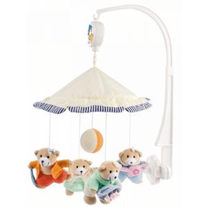 Canpol Babies, Misie pod parasolem, karuzela pluszowa z pozytywką