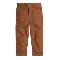 Cool Club, Spodnie chłopięce, chinosy, brązowe