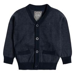 Cool Club, Rozpinany sweter chłopięcy, granatowy