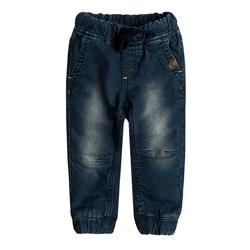 Cool Club, Spodnie jeansowe chłopięce z gumką w pasie, denim