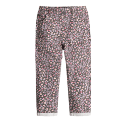 Cool Club, Spodnie dziewczęce, różowe kwiatki
