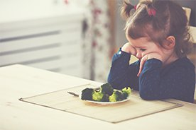 Dziecko niejadek. Dlaczego dziecko nie chce jeść?