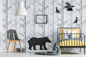 Naklejki na ścianę dla dzieci. 7 pomysłów na szybką metamorfozę pokoju smyka