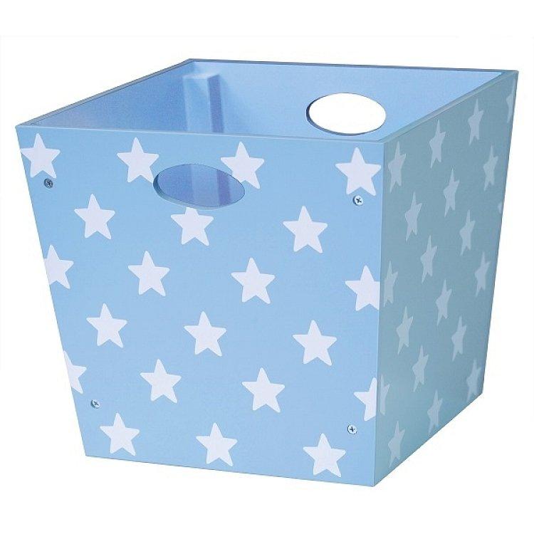 Kids Concept, Pudełko w gwiazdki, niebieskie