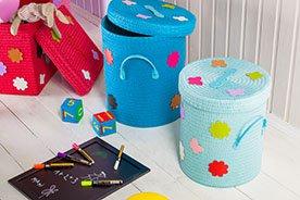 Kosz na zabawki - dekoracyjny i praktyczny niezbędnik do pokoju dziecięcego. Ranking najciekawszych produktów