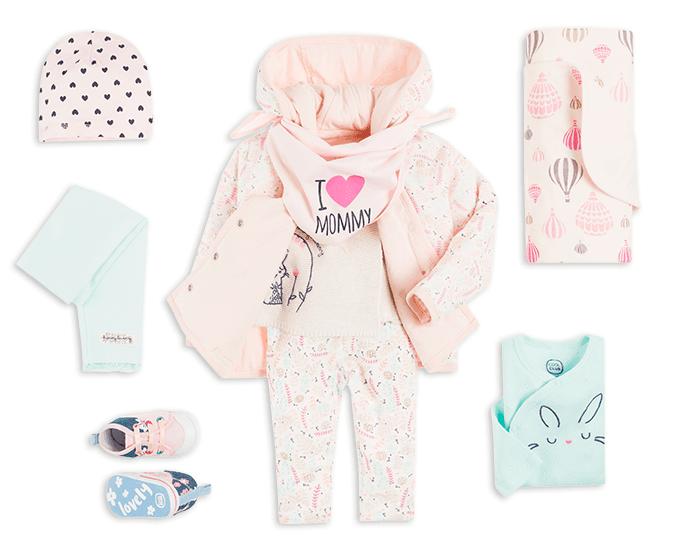 Majówka - stylizacja dla niemowlaka dziewczynki