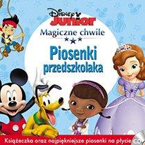 Magiczne chwile Disney Junior. Piosenki przedszkolaka. CD