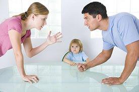 Przekleństwo wrzasków - kiedy rodzice się kłócą
