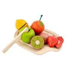 Plan Toys, Drewniane owoce do krojenia
