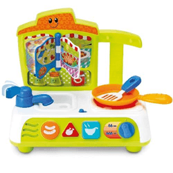 Smily Play, Mały Kucharz, Zabawka interaktywna, Rozgadana kuchnia