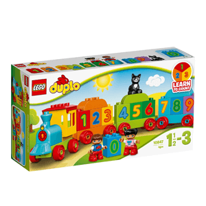 LEGO DUPLO, Pociąg z cyferkami, 10847
