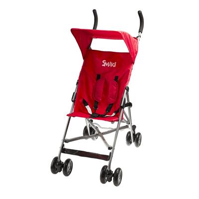 Smiki, Travel, wózek typu parasolka, czerwony