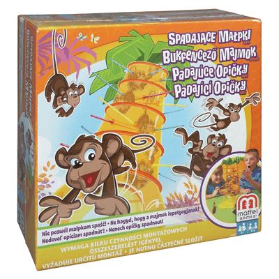 Gra zręcznościowa Mattel, Spadające małpki