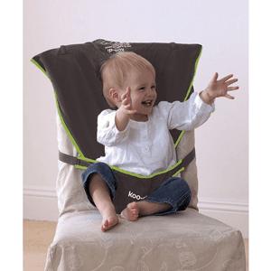 Koo-di, przenośne krzesełko do karmienia, szare