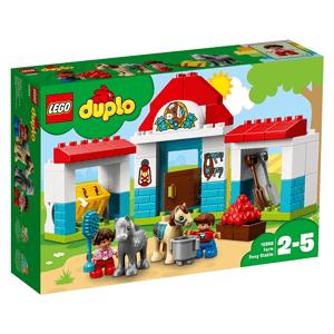 LEGO DUPLO, Stajnia z kucykami, 10868