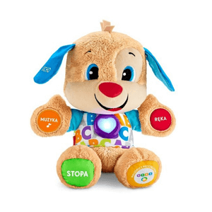 Fisher-Price, Szczeniaczek Uczniaczek Poziomy Nauki, zabawka interaktywna