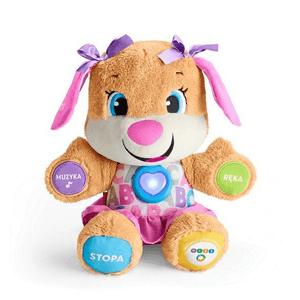 Fisher-Price, Siostrzyczka Szczeniaczka Poziomy Nauki, zabawka interaktywna