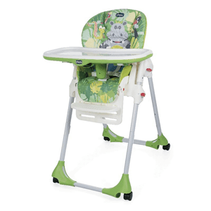 Chicco, Polly Easy, krzesełko, zielone