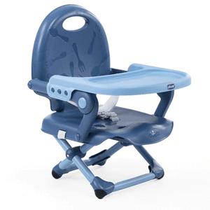 Chicco, Pocket Snack, krzesełko, niebieskie