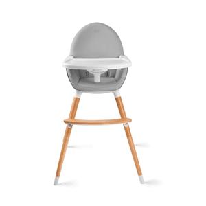 Kinderkraft, Fini, krzesełko do karmienia, szare