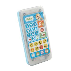 Fisher-Price, Uczący smartfonik Szczeniaczka Nagraj wiadomość, niemowlęca zabawka interaktywna