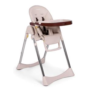 Ricokids, Lindo, krzesełko do karmienia i leżaczek, kremowe