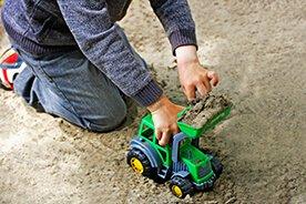 Koparki dla dzieci, czyli przegląd zabawek budowlanych