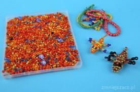 Kreatywne koraliki - pomysł na zabawę dla dziecka