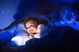 Lampka projektor do dziecięcego pokoju