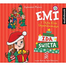 Emi i Tajny Klub Superdziewczyn. Idą święta. Audiobook. CD mp3