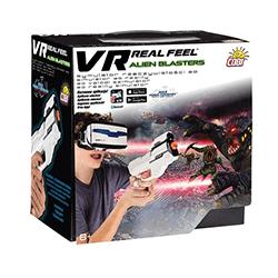 Cobi, VR Real Feel, Alien Blaster, symulator rzeczywistości i gra 3D