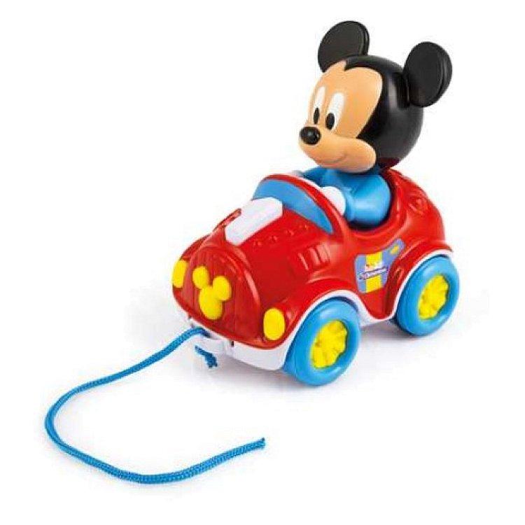 Clementoni, Baby Clementoni, Myszka Miki, samochodzik do ciągnięcia