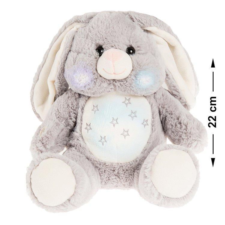 Smiki, królik, maskotka, światło i dźwięk, 22 cm