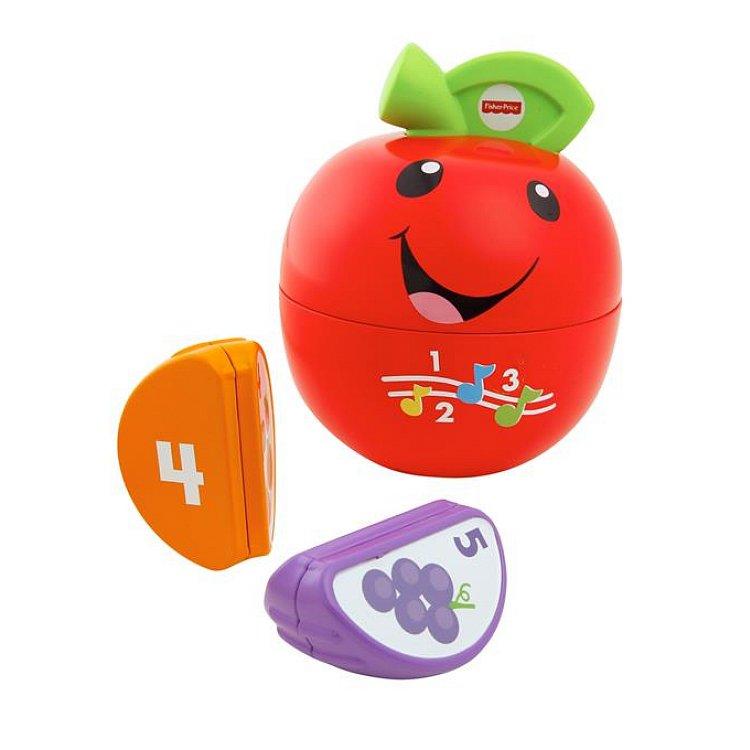 Fisher-Price, Ucz się i śmiej, Uczące jabłuszko, zabawka niemowlęca