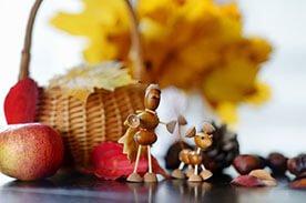 5 rozwijających zabaw z wykorzystaniem kasztanów i żołędzi