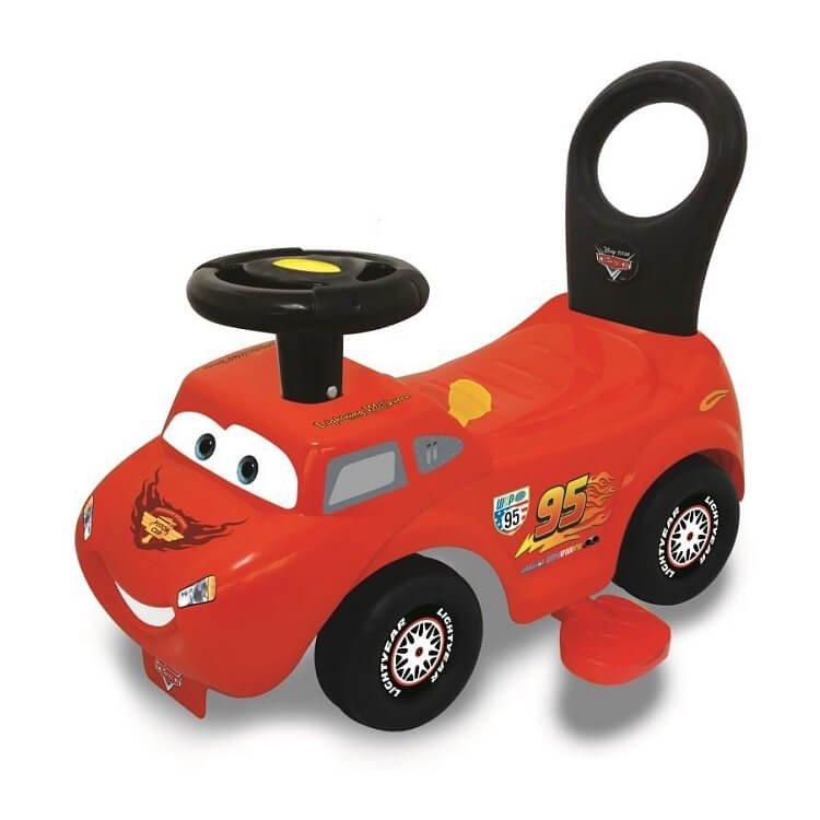 Kiddieland, McQueen, jeździk 2w1, z napędem